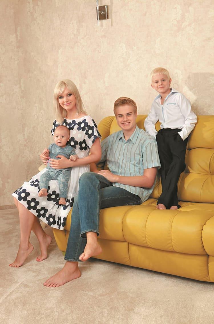 Роскошный диван – любимец всей семьи