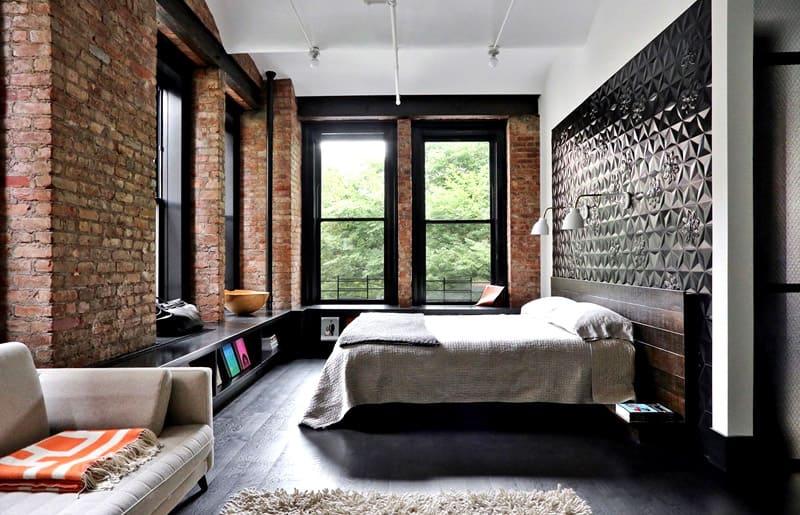 Минимум декоративной отделки — вся прелесть лофта