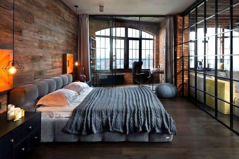 Большие окна обеспечат хорошую освещенность
