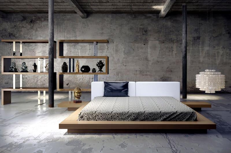 Для лофта характерен бетонный пол
