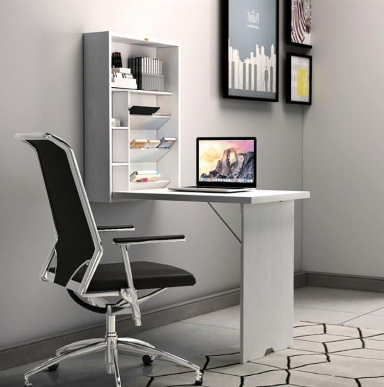 Неприметный, на первый взгляд, шкафчик легко превращается в полноценное рабочее место. Его очень просто собрать и разобратьФОТО: ru.aliexpress.com