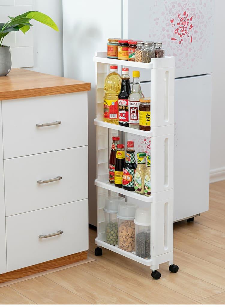 Полочка подойдёт для хранения как чистящих средств, так и ёмкостей для сыпучих продуктов ФОТО: ru.aliexpress.com