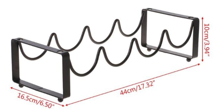 Металлический каркас достаточно прочен, чтобы выдержать достаточно объёмные сосуды с алкоголемФОТО: ru.aliexpress.com