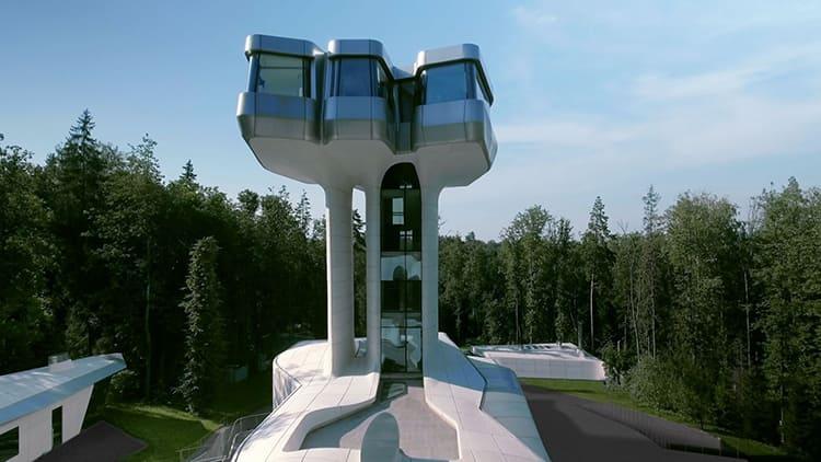 Площадь дома превышает три тысячи квадратных метровФОТО: isi.sfu-kras.ru
