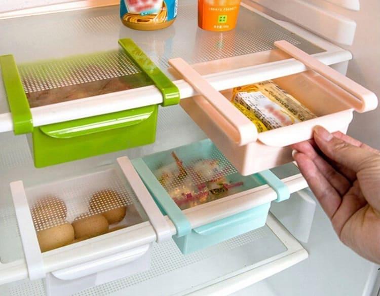 Аккуратные полочки подойдут для холодильников любого типа и формата ФОТО: ru.aliexpress.com