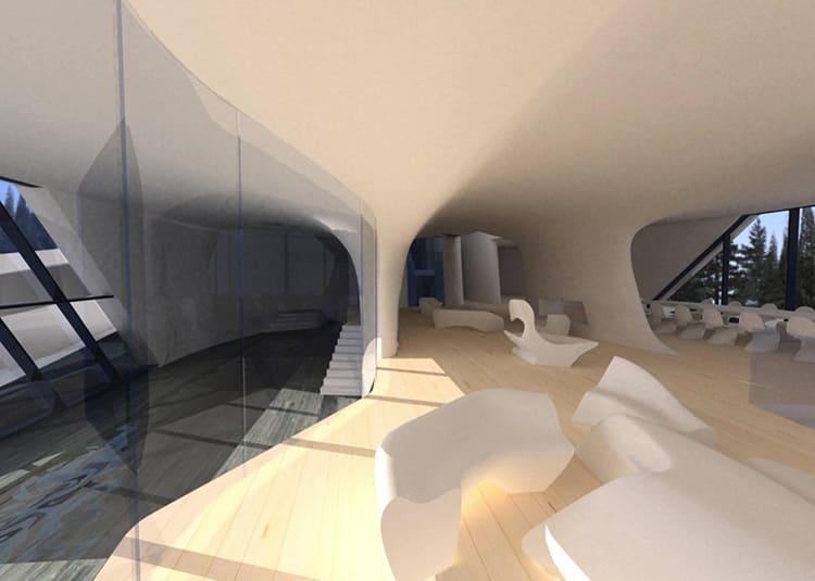 Здесь большие пространства для приёма гостей, так как «русский Джеймс Бонд» планирует также проводить вечеринкиФОТО: skuky.net