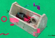 Ящик для инструментов в подарок мужу или себе, я ещё не решила