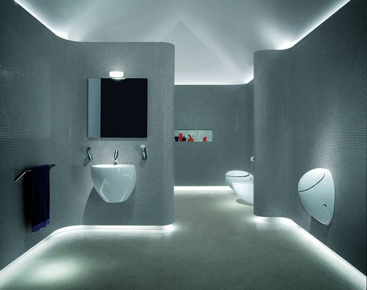 такая подсветка светодиодной лентой становится всё популярнееФОТО: allstateloghomes.com