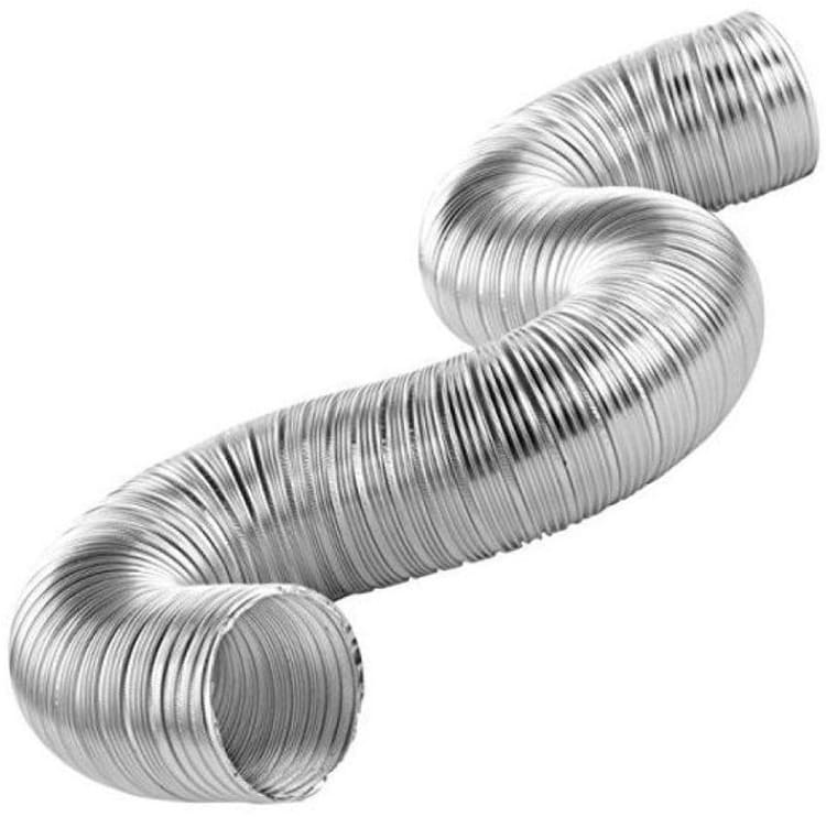 Гофрированная труба нужна для отвода пара, запахов и продуктов горения в вентиляционный каналФОТО: mssupply.com