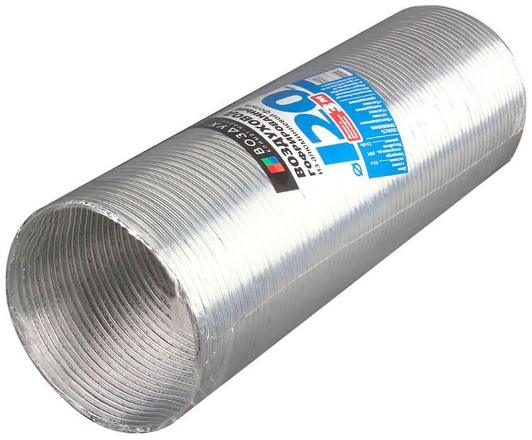 Гофра 120 мм для вытяжки — наиболее ходовой диаметрФОТО: syktyvkar.goodster.ru