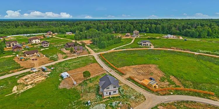 Так выглядела земля до начала строительства ФОТО: domzamkad.ru