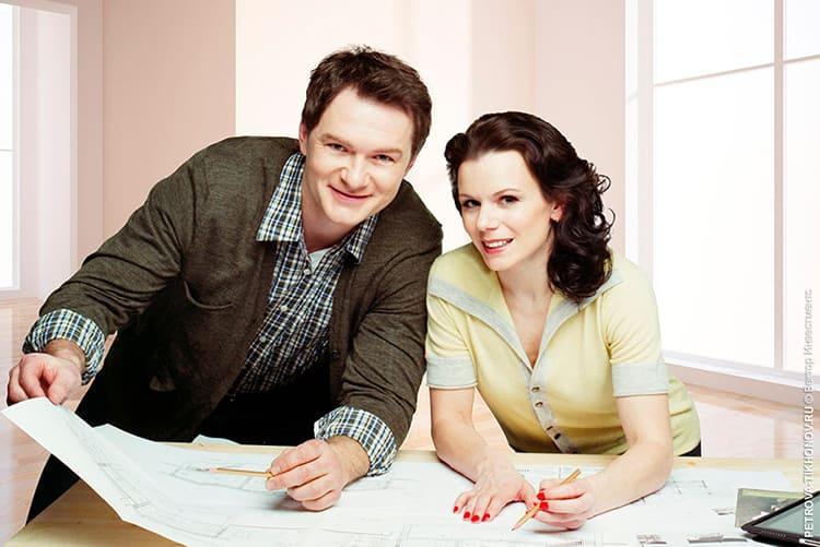 Супруги самостоятельно разбирались в каждом элементе проекта ФОТО: domzamkad.ru