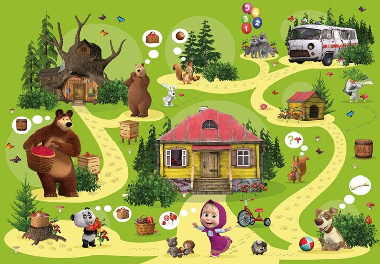 Вариант тематической игры на стене не оставит равнодушными ни детей, ни взрослыхФОТО: leroymerlin.ru
