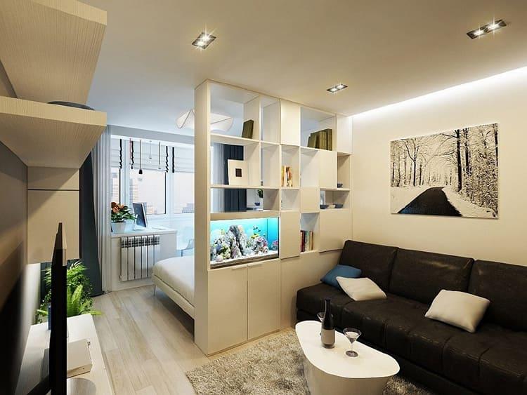 При правильном подходе однокомнатная квартира может быть комфортной и уютнойФОТО: avatars.mds.yandex.net