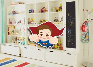 Стеллажи и ящики для игрушек как средство приучить ребёнка к порядку