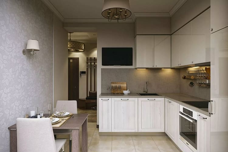 Для отделки кухни нужны влаго- и износостойкие материалыФОТО: remontkit.ru