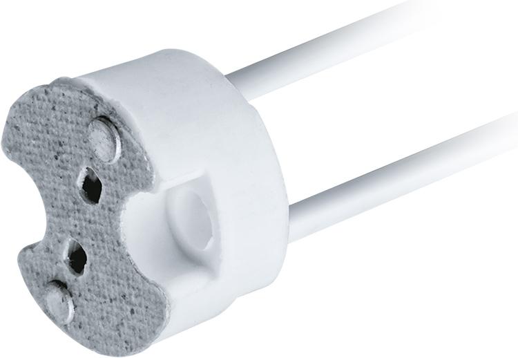 Керамический G4 для подключения светодиодных или галогеновых точечных светильниковФОТО: ачинск.бигсклад.рф
