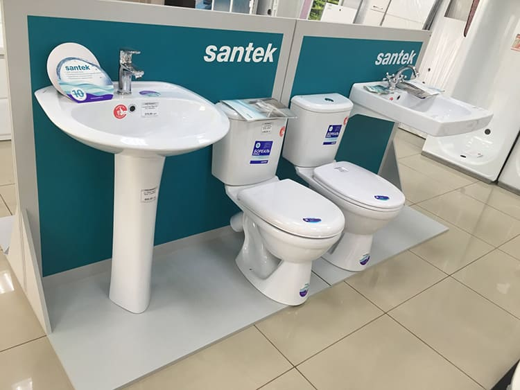Изделия Santek можно встретить в любом магазинеФОТО: m.2gis.ru