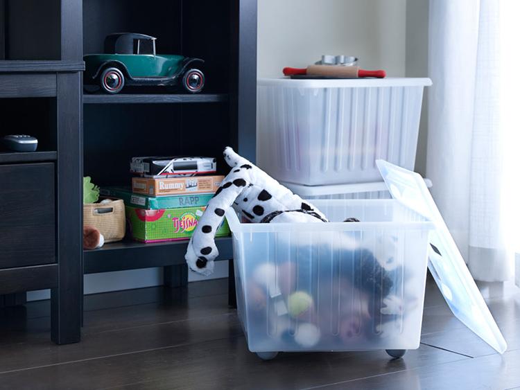 Ящик — удобный способ хранения белья и мелких игрушекФОТО: vse.kz