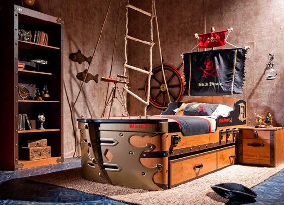 Оформление комнаты и весь декор должны соответствовать полу и возрасту ребёнкаФОТО: kitchenremont.ru