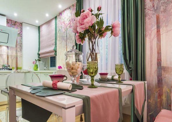 Текстиль в оформлении кухни очень важен. Скатерти, салфетки, полотенца, занавески – всё это следует подчинить общей идееФОТО: 2.s7.arpaddr.com