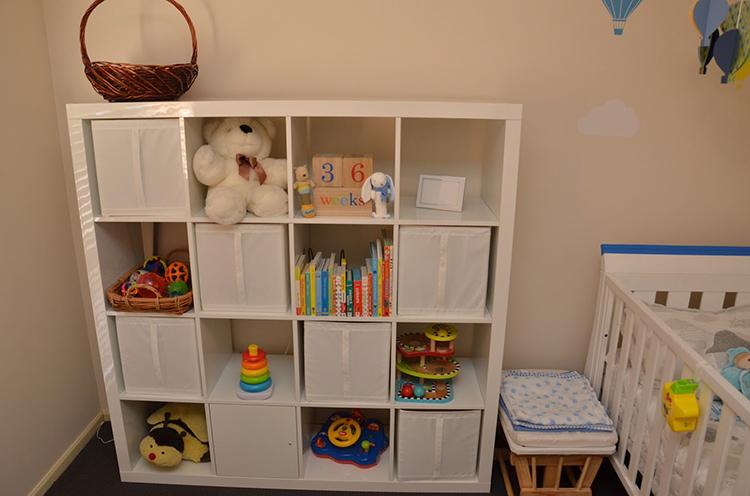 Для детской нужно выбирать стеллаж спокойных цветовФОТО: 3.bp.blogspot.com