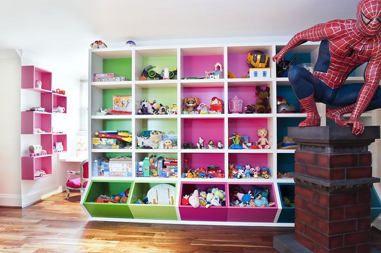 Конструкции для хранения игрушек могут иметь любую конфигурацию, размеры и изготавливаться из самых различных материаловФОТО: alternativealexandriawaterfrontplan.com