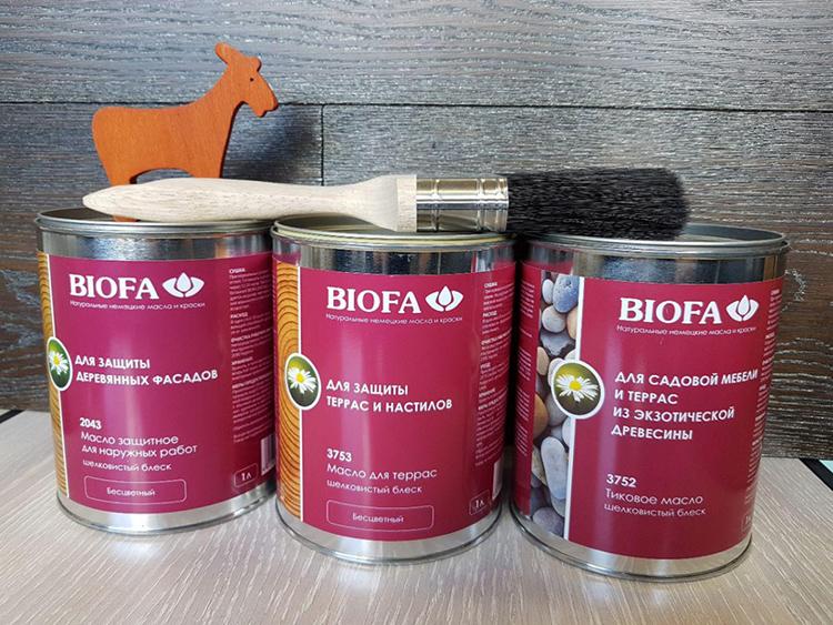 Масляные пропитки гарантируют эффективную защитуФОТО: gidpokraske.ru
