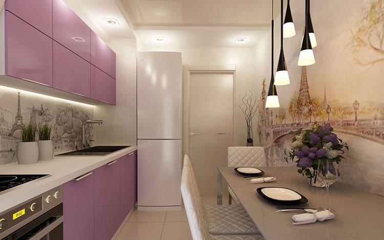 Обустройство кухни 9 м²: идеи дизайна с фото интерьеров