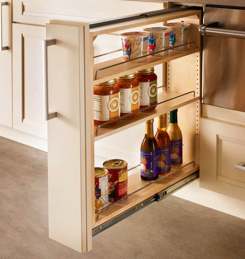 А вы наконец-то найдёте удобное место для хранения кетчупов и приправ