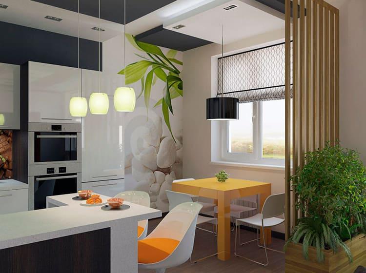 Объединение кухни с гостиной — самое популярное решение при перепланировкеФОТО: dizainvfoto.ru
