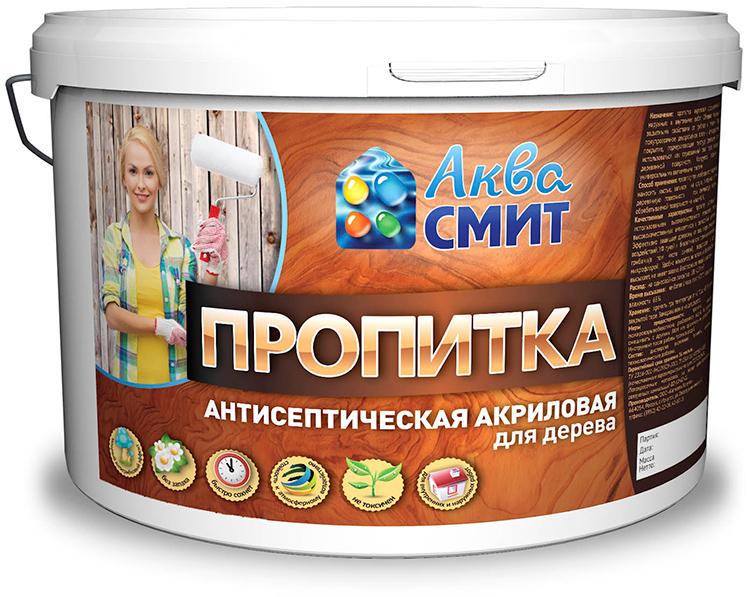 Акриловая пропитка может наноситься на дерево на любом этапе строительстваФОТО: gidpokraske.ru