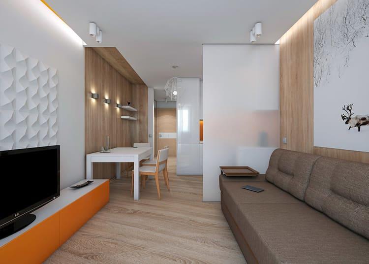 Вытянутая форма квартиры слегка осложняет её обустройствоФОТО: avatars.mds.yandex.net