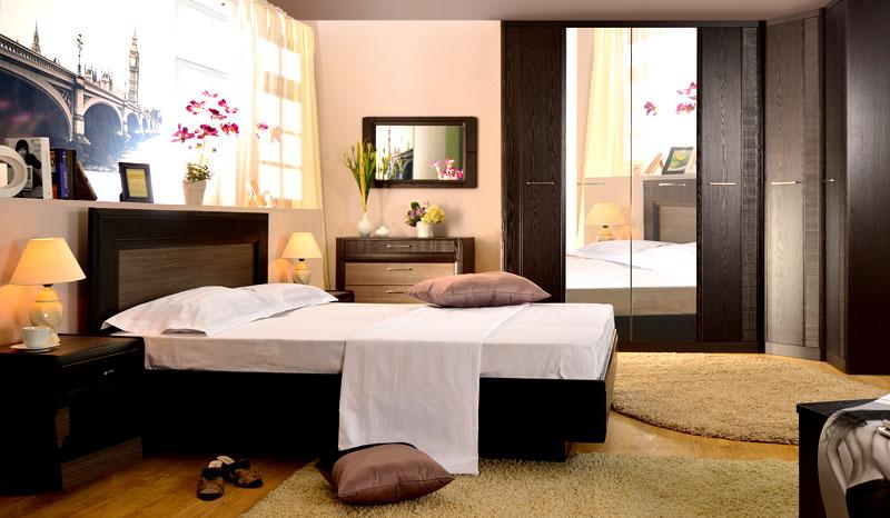 Спальный гарнитур «венге цаво»