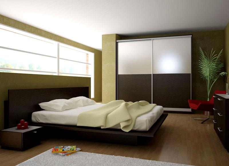 В такой спальне сладко спится