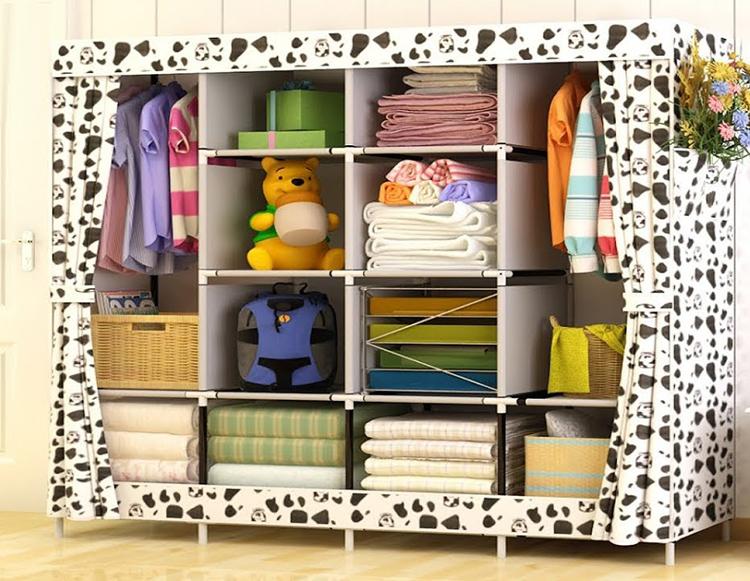 Внешне шкаф не выглядит массивным, есть возможность закрыть его, защитив от пыли во время ремонтных работФОТО: ru.aliexpress.com