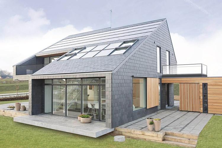 Множество окон, солнечные панели – вот первый признак энергоэффективного домаФОТО: vwamarokforum.net