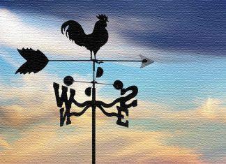 Подчеркнём свою индивидуальность: выбираем и изготавливаем флюгер на крышу