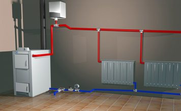 Зима скоро: однотрубная система отопления частного дома