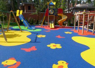 С заботой о детях: современное резиновое покрытие для детских площадок