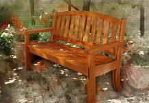 Надеюсь, он придёт с цветами: как я сделала романтическую скамейку