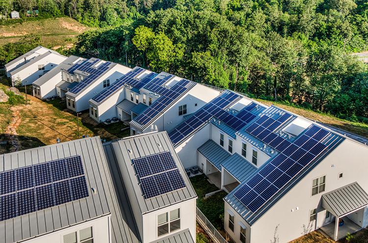 Возможно, скоро появятся такие «посёлки будущего» ФОТО: archello.com