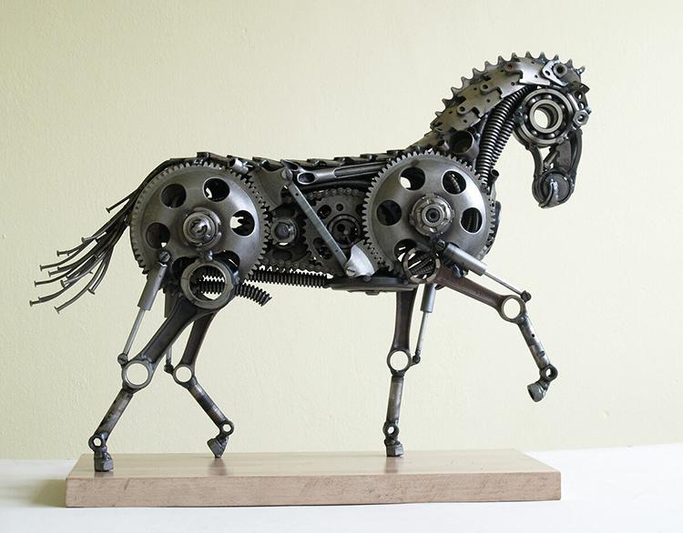 Из множества элементов можно собрать интересные скульптурыФОТО: avatars.mds.yandex.net
