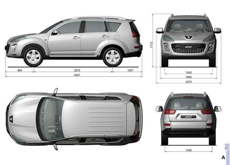 Габариты машины вы найдёте в спецификации, а вот добавочную площадь нужно будет рассчитать и расчертить отдельноФОТО: 230km.ru