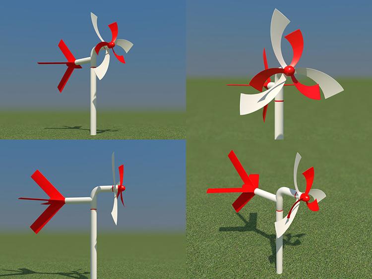 Ветряной флюгер с пропеллером повышает точность измерения силы ветраФОТО: chepetsk.ru