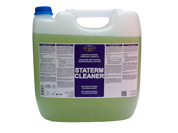 Для очистки элементов отопительного контура используются специальные средстваФОТО: shop.stafor.lv