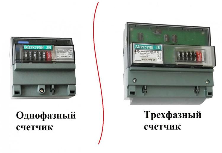 Подключение трёхфазного счётчика вместо однофазного вполне возможноФОТО: rabotiagi.com