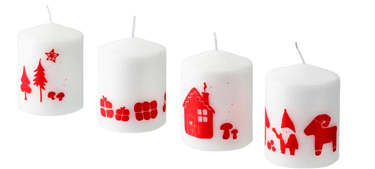Не забывайте, что использование свечей может быть пожароопаснымФОТО: ikea.com
