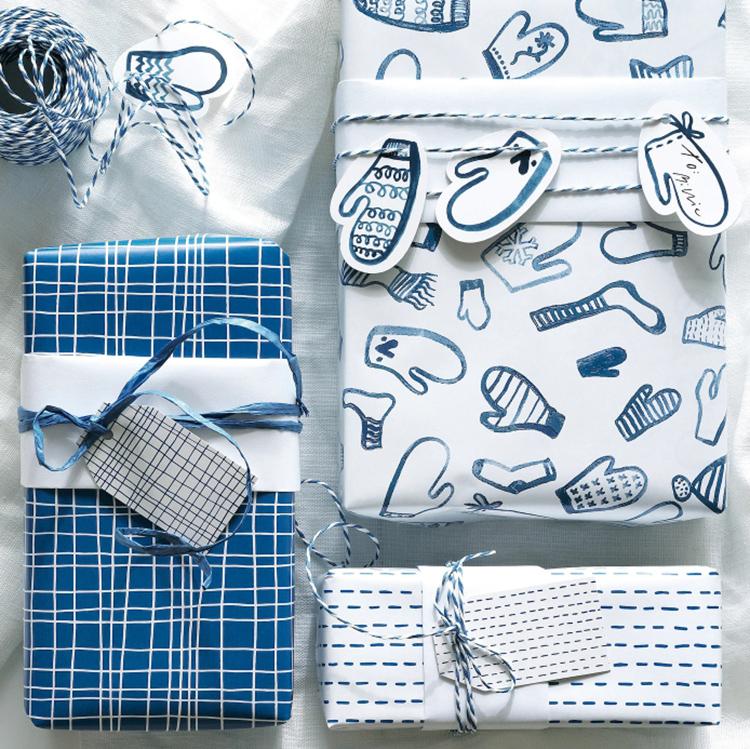 Тесьма, наклейки и украшения сделают ваши подарки родным и друзьям по-настоящему праздничнымиФОТО: ikea.com