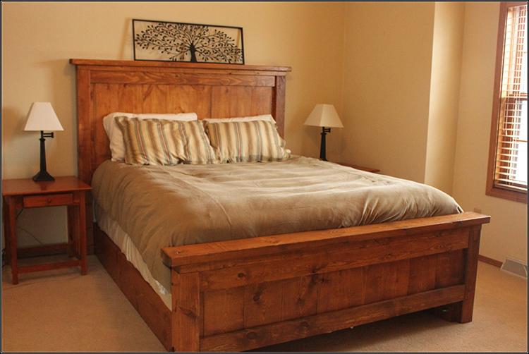 Приятно отдыхать на кровати из натурального дерева, сделанной своими рукамиФОТО: avatars.mds.yandex.net